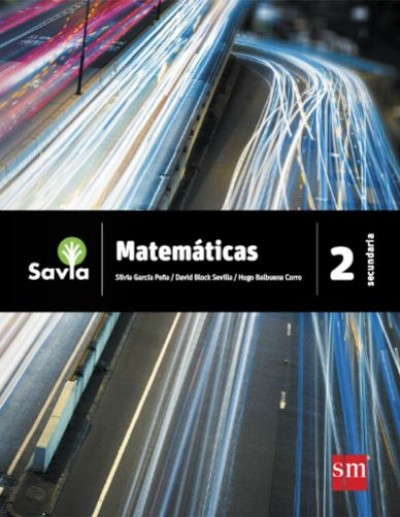 Matemáticas 2. Secundaria. Savia | LIBROSMÉXICO.MX