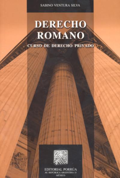 Derecho romano curso de derecho privado | LIBROSMÉXICO.MX